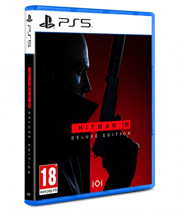 HITMAN III DELUXE EDITION - NOVO - PS5 - ENCOMENDA