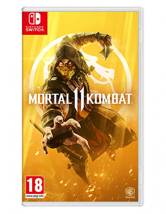 MORTAL KOMBAT 11 - NOVO - NINTENDO SWITCH - ENCOMENDA -