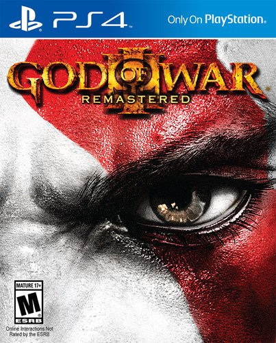 GOD OF WAR III Remastered - NOVO - PS4 - ENCOMENDA