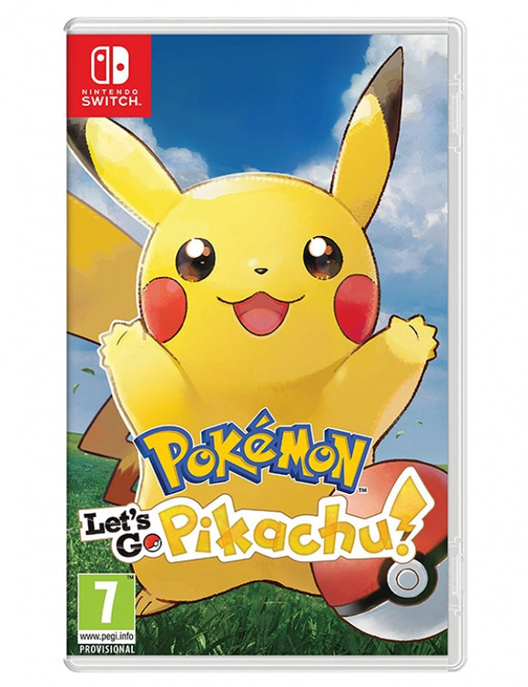POKÉMON LET'S GO PIKACHU!- NOVO - NINTENDO SWITCH - ENCOMENDA -