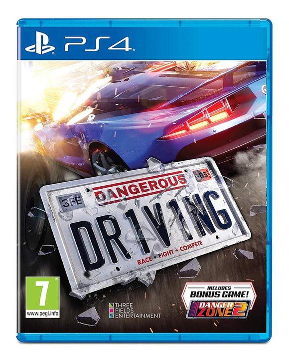 DANGEROUS DRIVING - NOVO - PS4 - ENCOMENDA -