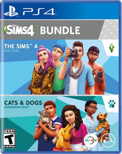 THE SIMS 4 BUNDLE - NOVO - PS4