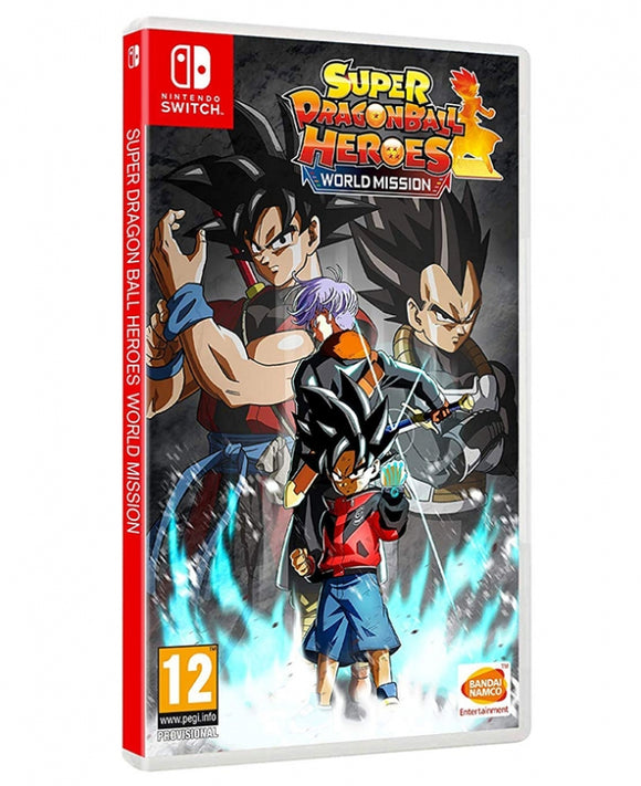 SUPER DRAGON BALL HEROES WORLD MISSION  - NOVO - NINTENDO SWITCH - ENCOMENDA -