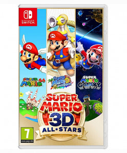 SUPER MARIO 3D ALL STARS - NOVO - NINTENDO SWITCH - ENCOMENDA -