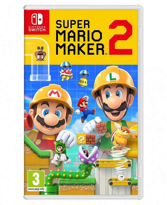SUPER MARIO MAKER 2 - NOVO - NINTENDO SWITCH - ENCOMENDA -