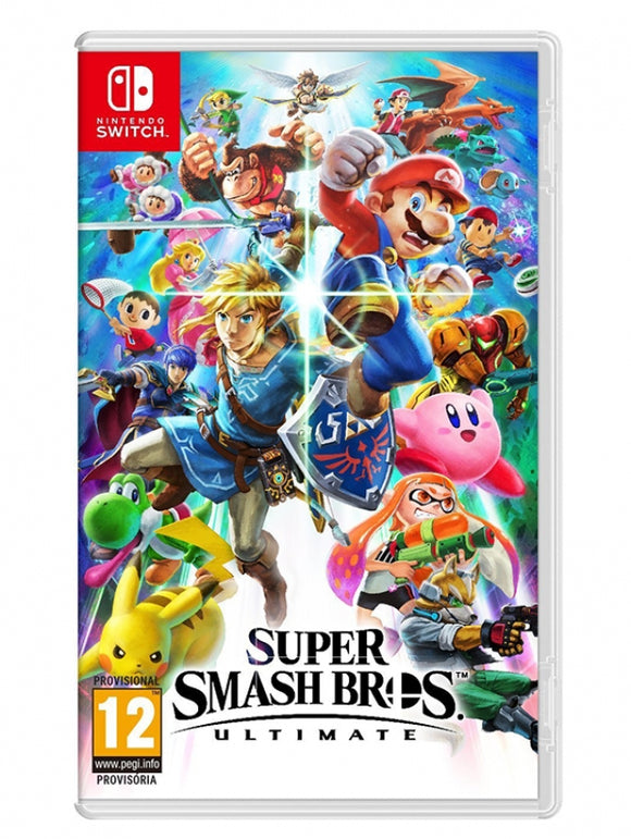 SUPER SMASH BROS. ULTIMATE - NOVO - NINTENDO SWITCH - ENCOMENDA -