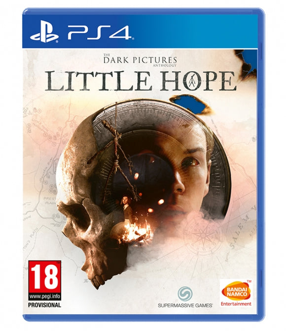 THE DARK PICTURES: LITTLE HOPE PS4 - NOVO - PS4 - ENCOMENDA -
