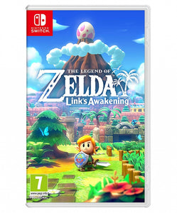 THE LEGEND OF ZELDA LINKS AWAKENING  - NOVO - NINTENDO SWITCH - ENCOMENDA -