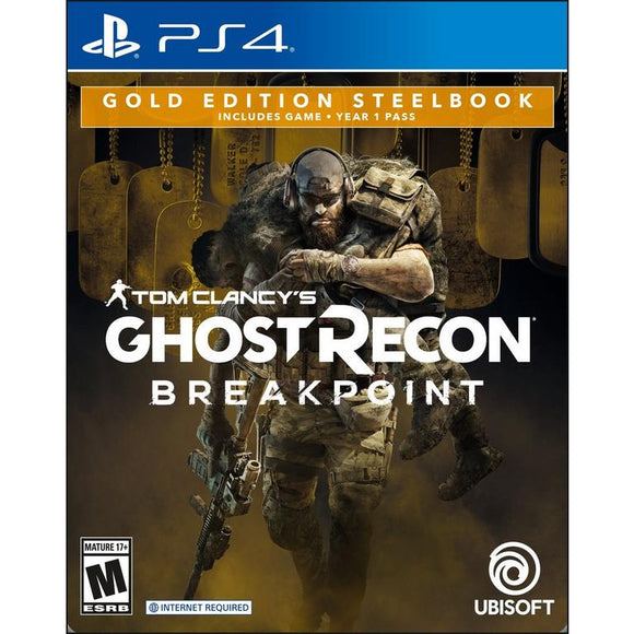 GHOST RECON BREAK POINT Gold Edition - SEMINOVO - PS4