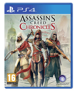 ASSASSINS CREED CHRONICLES - NOVO - PS4
