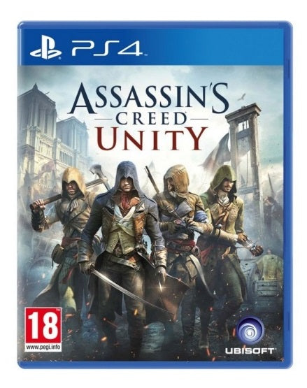 ASSASSIN'S CREED UNITY: LIMITED EDITION - SEMINOVO - PS4