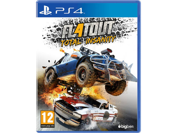 FLATOUT: TOTAL INSANITY - SEMINOVO - PS4