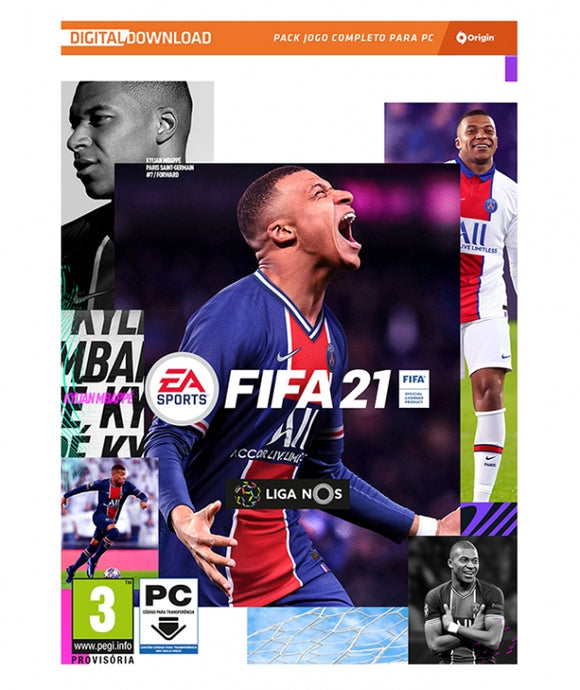 FIFA 21 (EM PORTUGUÊS) - NOVO - PC - [DOWNLOAD DIGITAL] PC