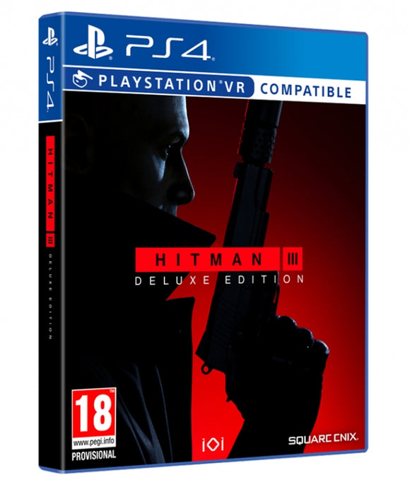 HITMAN III DELUXE EDITION - NOVO - PS4 -ENCOMENDA -