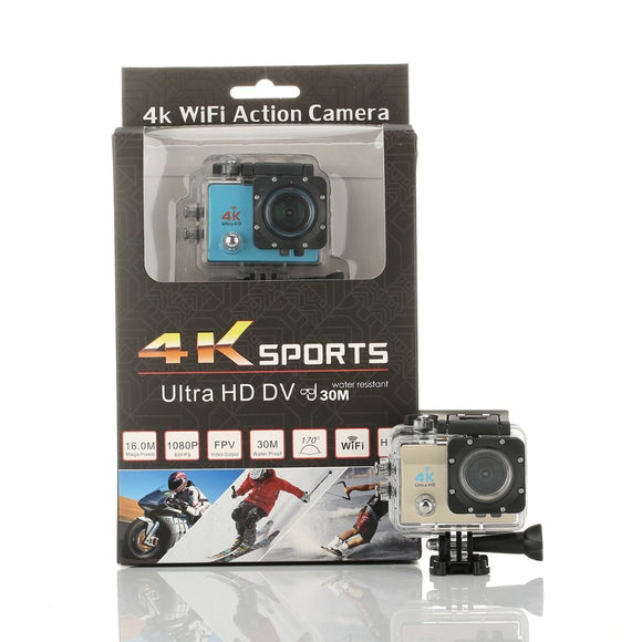 SPORTS CAMERA 4K ULTRA HD DV - NOVO