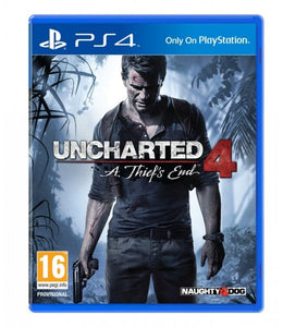 UNCHARTED 4: A THIEF'S END - NOVO - PS4