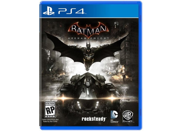 BATMAN ARKHAM KNIGHT - NOVO - PS4