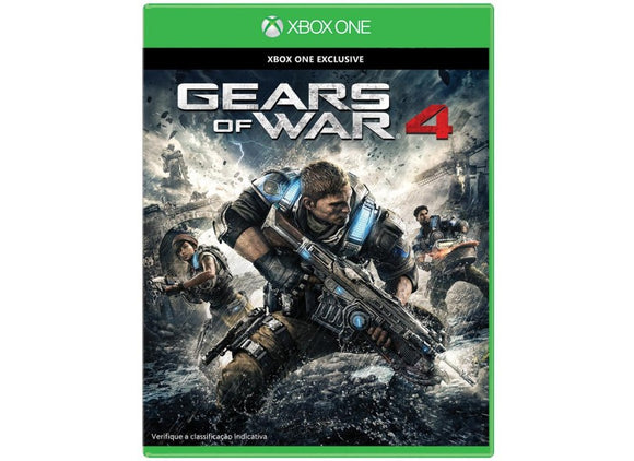 GEAR OF WAR 4 - SEMINOVO - XBOX ONE