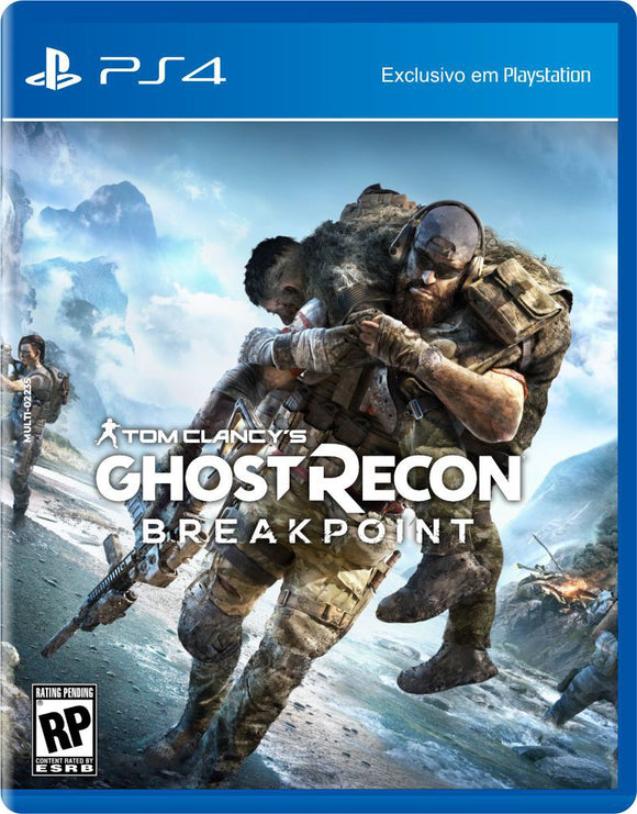 GHOST RECON BREAK POINT - NOVO - PS4