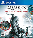 ASSASSYN'S CREED 3 - NOVO - PS4