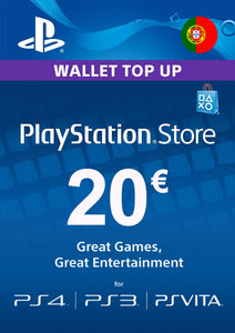 PLAYSTATION STORE eGIFT CARD Portugal - DIGITAL - Envio por Email/WhatsApp