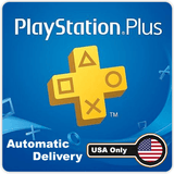 PLAYSTATION PLUS (Conta Americana) - DIGITAL - Envio por Email/WhatsApp