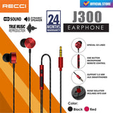 Auriculares Recci Heavy Bass J300