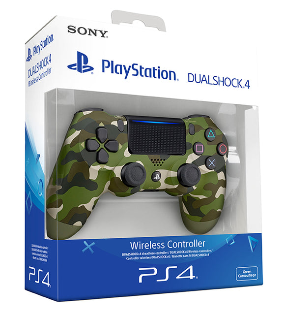 COMANDO SONY DUALSHOCK 4 V2 Green Camouflage PS4 (Portugal)