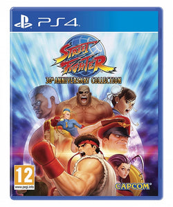 STREET FIGHTER 30th Anniversary Collection - NOVO - PS4