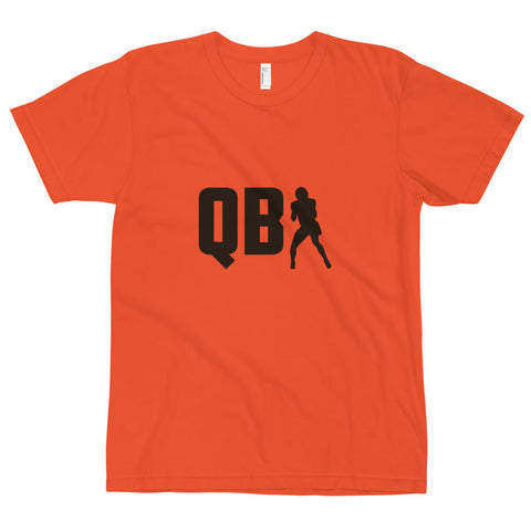 QB 1 Cleveland Tee, Orange/Brown