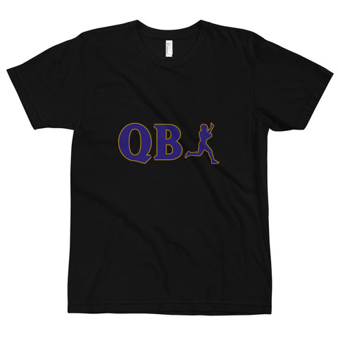 QB 1 Baltimore Tee, Black/Purple/Gold