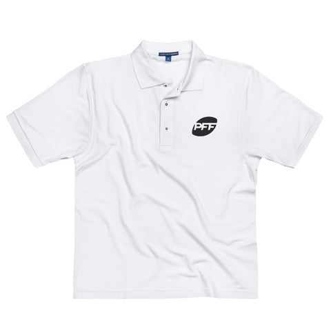 PFF White Premium Embroidered Polo