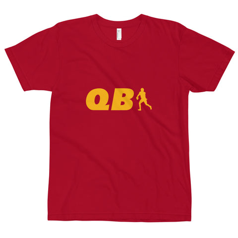 QB 1 Kansas City Tee, Red/Yellow