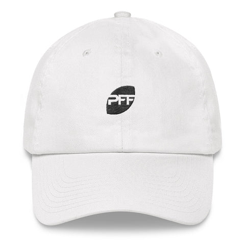Pro Football Focus Dad Hat (White)