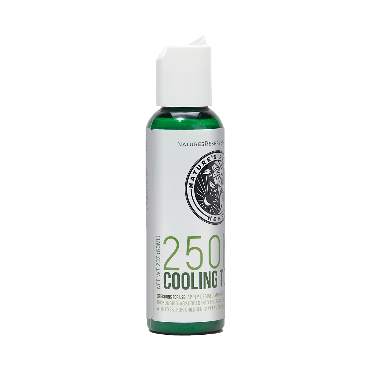 250 MG CBD Cooling Topical Lotion