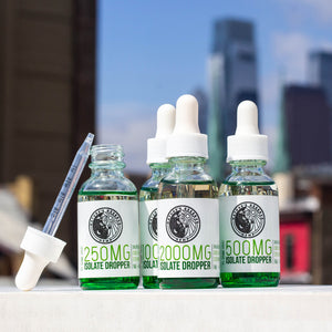 1000 MG High Strength CBD Tincture Isolate Droppers