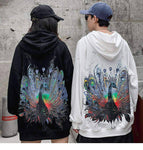 Sweat Japonais <br/> Paon