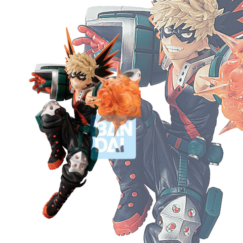 "Figurine My Hero Academia <br/> ""Bakugou - Smash Rising"""
