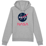 sweat à capuche logo nasa