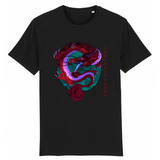 T-Shirt Japonais <br/> Dragon Rouge