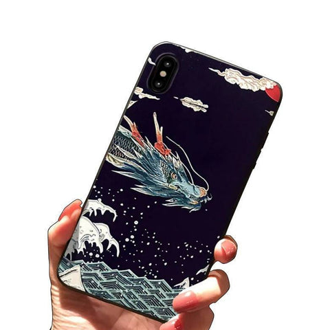Coque Dragon iPhone | Ambiance Japon©