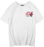 Tee Shirt Rose Rouge