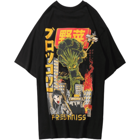 T-Shirt Brocoli | Ambiance Japon©