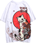 T-Shirt Japonais <br/> Chat-Pirate