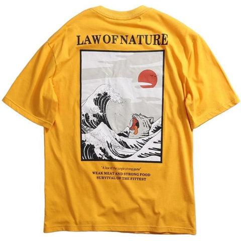 T-Shirt Vague de Kanagawa | Ambiance Japon©