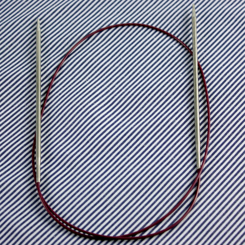 Knit Picks Nickel Fixed Circular 32""