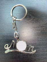 Load image into Gallery viewer, MOM snap - button necklace or Keychain