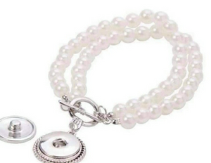 Pearl Snap Bangle