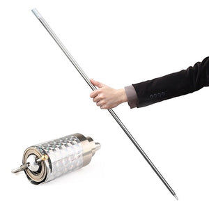 Collapsible Metal Cane/Bo Staff