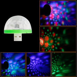USB Disco Party Light (Free Gift)